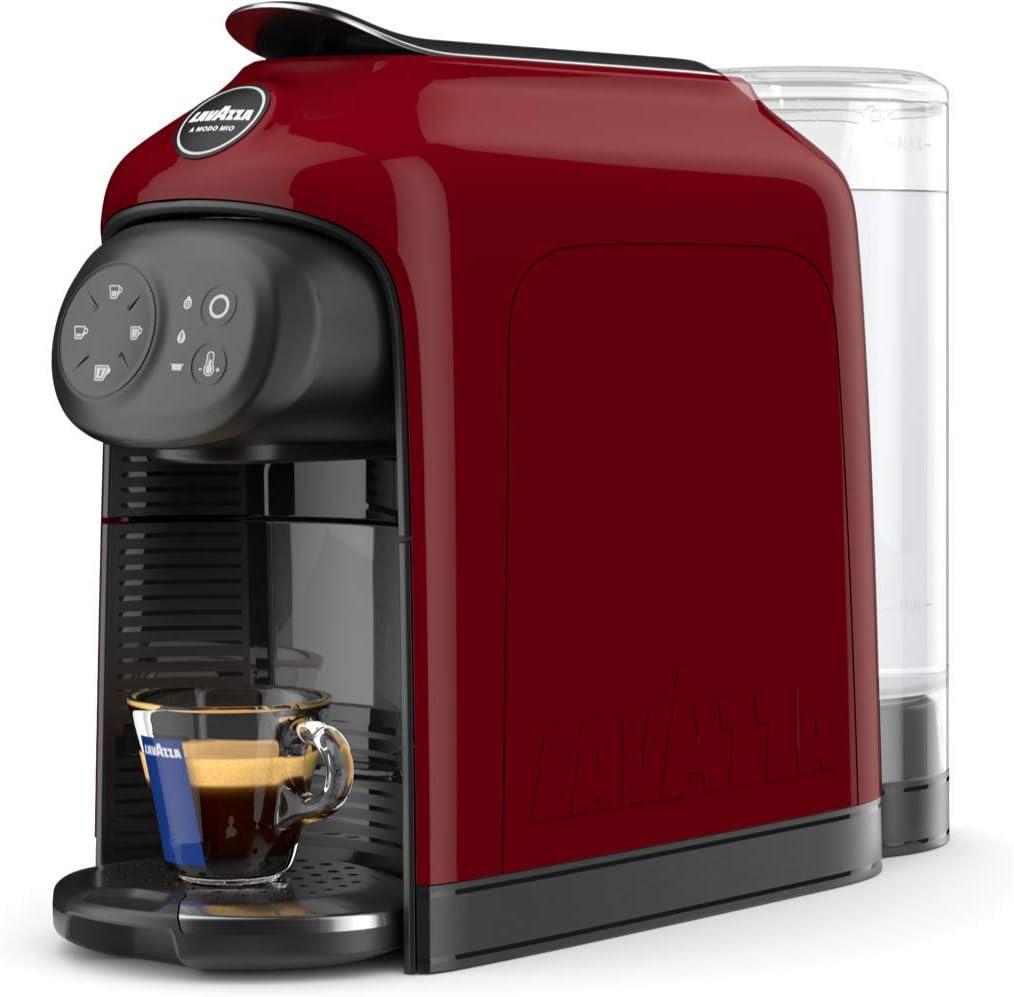 Lavazza Idola Independiente Máquina de café en cápsulas 1,1 L Totalmente automática - Cafetera (Independiente, Máquina de café en cápsulas, 1,1 L, C&aa