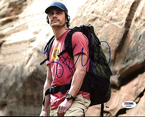 James Franco 127 Hours Signed 8 x 10 Photograph - Certified Genuine Autograph By PSA/DNA