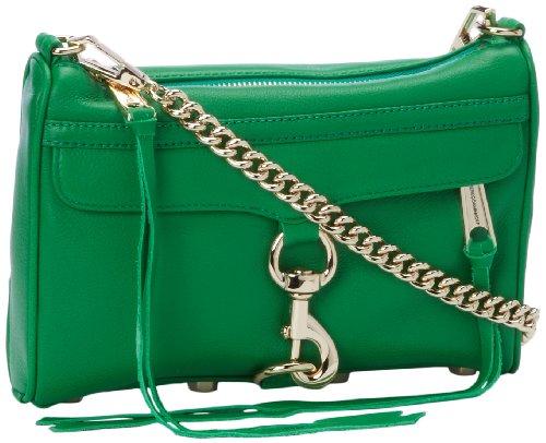 Rebecca Minkoff Mini Mac H001I001 Clutch,Green,One Size, Bags Central