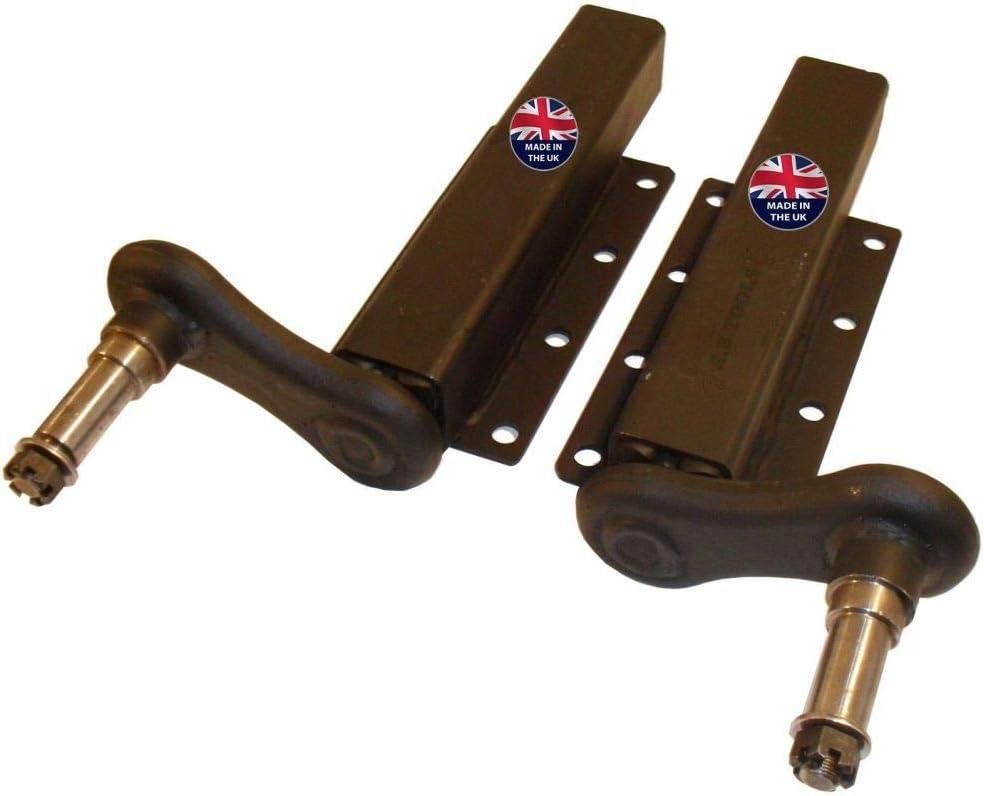 Hasp /& Staple 316 Stainless Steel Heavy Duty Cast Locker Cabin Hatch Swivel Lock