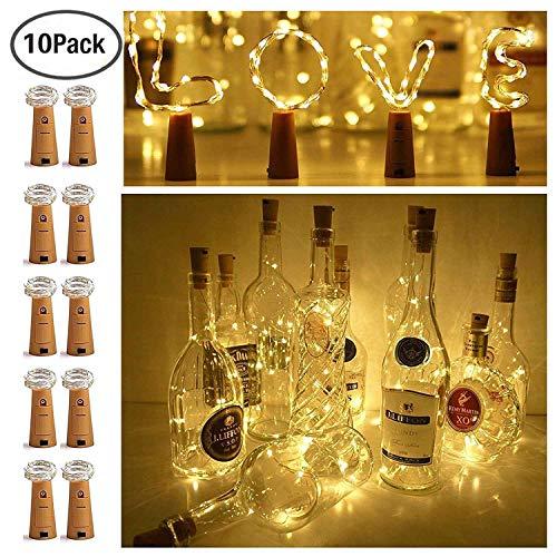 Ninight 11 20 LED Cork String Wine Bottle