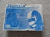 1995 Honda CBR1000F Owners Manual CBR 1000 F