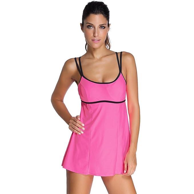 bikini - mode schulterriemen, groß minirock, badeanzug,schwarz: Amazon.de:  Sport & Freizeit