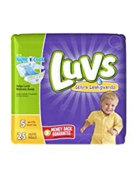 LUVS DIAPERS SIZE 5 - 25 CT BOBEBE Online Baby Store From New York to Miami and Los Angeles