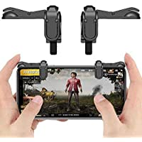 IMMUTABLE Gaming Trigger Fire Button Controller with PubG Shooter for Most Smart Phones (Multicolour)