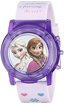 Disney Kids' FZN6000SR Digital Display Analog Quartz Pink Watch from Accutime Watch Corp.
