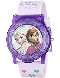 Kids' FZN6000SR Digital Display Analog Quartz Pink Watch