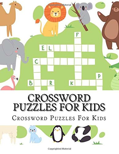Crossword Puzzles For Kids: Large Print Jumbo Book of Crosswords for Kids Ages 4-8
