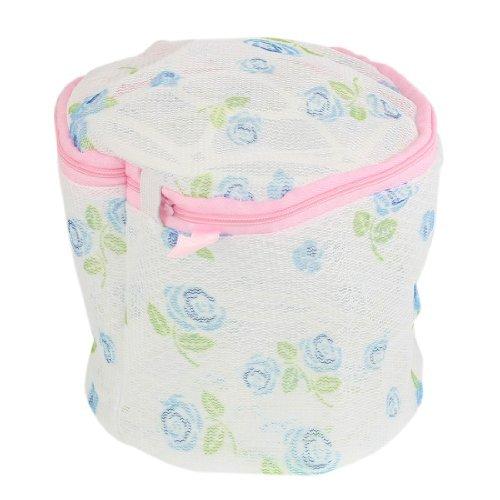 Amazon.com: eDealMax Nylon impresión de Rose de la cremallera reticular de lavandería Bolsa de Lavado de la ropa Interior del Sujetador: Home & Kitchen