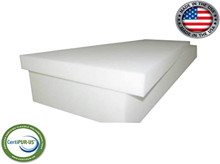 1 H x 36 W x 72 L Furniture Cushion Bedding Support /& Foam Mattress CertiPUR-US Certified Upholstery Foam Cushion Best for Seat Cushion AK TRADING CO
