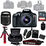 Canon Eos Rebel T6 DSLR Camera Bundle w/Canon 18-55mm f/3.5-5.6 IS II Lens, Sandisk 64GB SD Card, Case,Tripod, Grip, and More