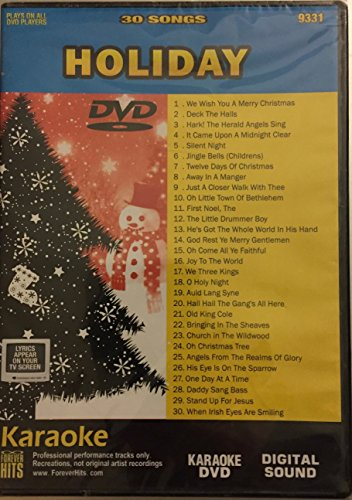 Hits Forever Karaoke - Holiday Karaoke DVD: Forever Hits