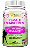 Natural Female Libido Enhancer (120 Capsules) Sexual Enhancement Formula w/ Horny Goat Weed, Maca Root, Tongkat Ali - Supplement Pills for Women to Boost Sex Drive, Pleasure, Low Libido & Arousal