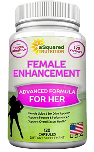 Libido féminine naturelle Enhancer (120 Capsules) améliorer la performance sexuelle formule w / Horny Goat Weed, racine de Maca, Tongkat Ali - supplément pilules pour femmes stimuler la libido, plaisir, faible Libido & excitation