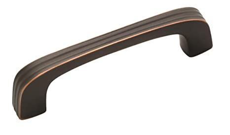 amerock bp19321fb cabinet pull 3 1 4 inch oil rubbed bronze rh amazon com 3 1/4 inch drawer pulls menards