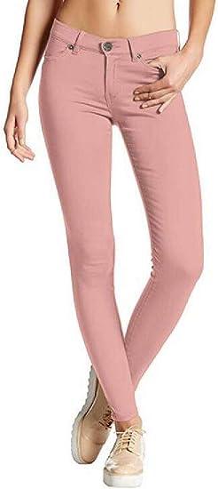 Memories Love Womens Winter Stretchy Skinny Pencil Pants Jeans Denim Pants