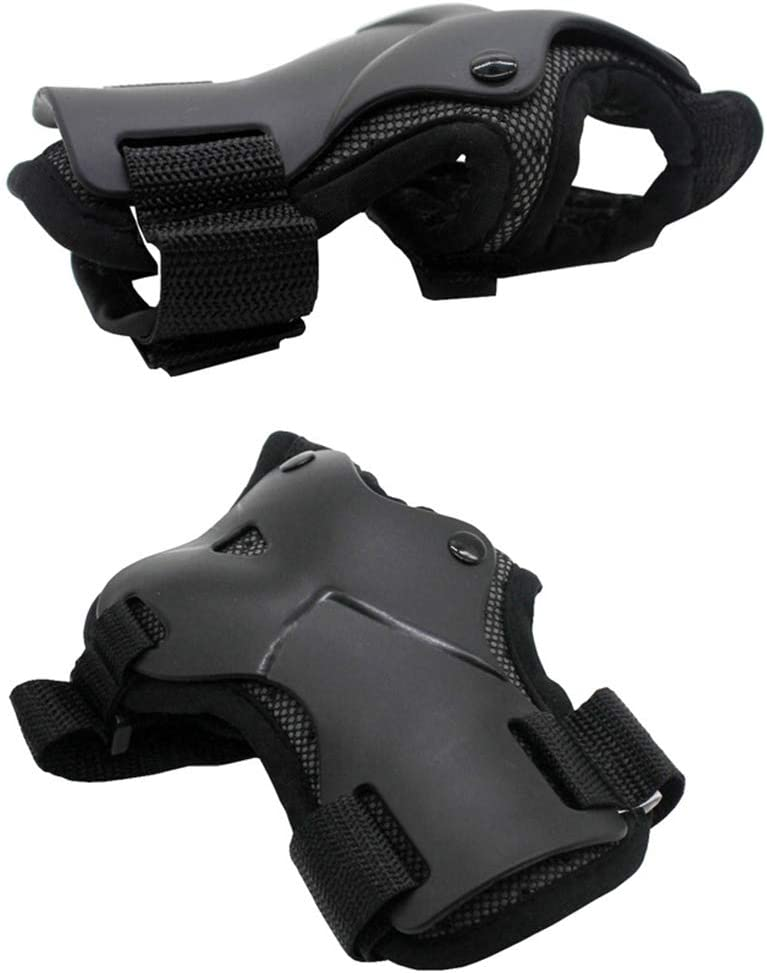 RONSHIN Sports 1Pair Unisex Wrist Guards Support Palm Pads Protector for Inline Skating Ski Snowboard