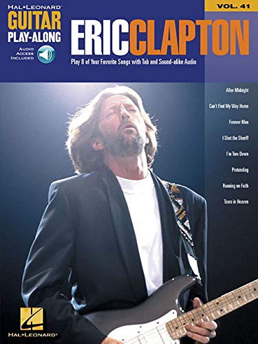 Eric Clapton: Guitar Play-Along Volume 41 (Hal Leonard Guitar Play-Along) ()