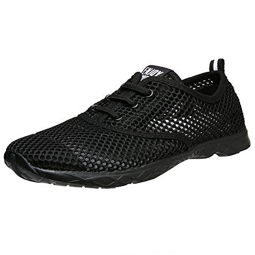 Aleader Quick black Drying Women's Water Black Aqua Shoes vvrfAx