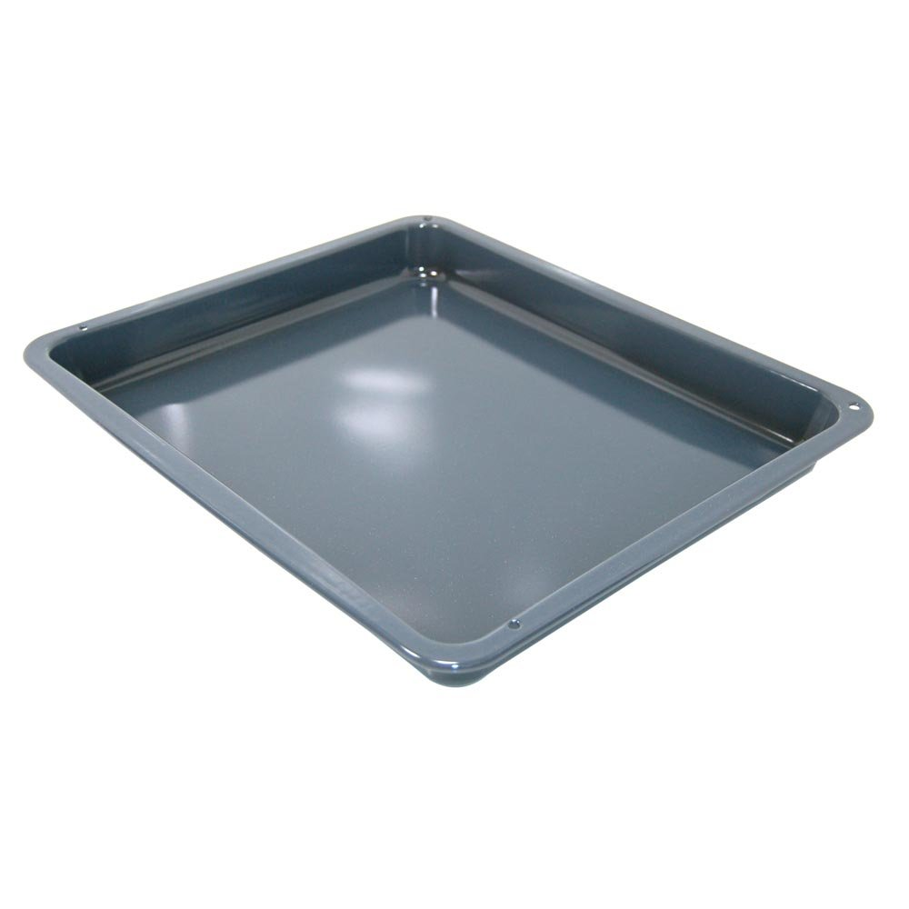 Drip Pan Grey/Blue Enamelled for Electrolux Oven Equivalent to 3870288200 Spares4appliances
