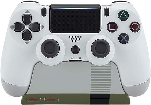 eXtremeRate Soporte de estación para Mando Playstation 4 Accesorios Gamepad Escritorio Soporte Tacto Suave Holder para Controlador PS4 Slim Controles PS4 Pro con Almohadilla de Goma(Clásico NES): Amazon.es: Electrónica