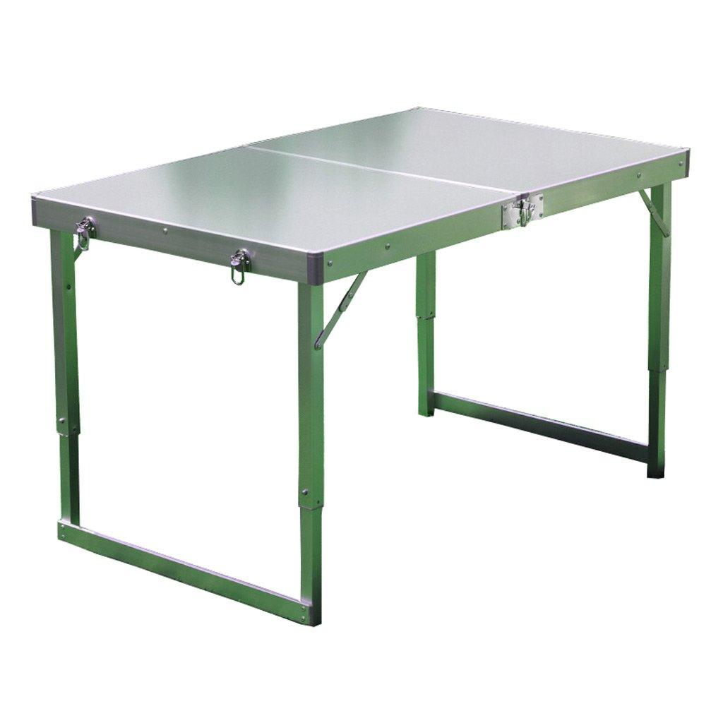 TangMengYun ピクニックテーブル屋外アルミテーブル折りたたみテーブルポータブルバーベキューテーブルの高さ調整キャンプテーブル (Color : A, サイズ : 108*52*70CM) B07DNBYNKL 108*52*70CM|A A 108*52*70CM