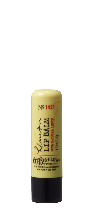 Bath & Body Works C.O. Bigelow Lemon Lip Balm Lemon Lip Balm Stick (No Shine Formula) No. 1421 - NEW STYLE PACKAGING