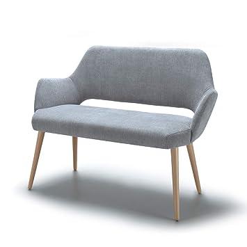 Alkove Andre - Sofá de diseño (gris claro)