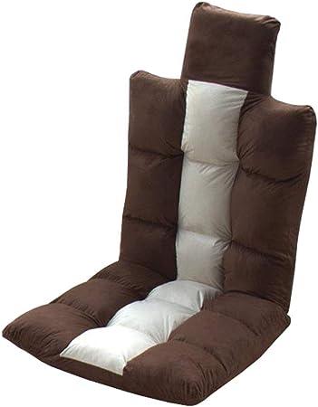 Chaise Pliante de Plancher Le Jeu Canapé Dossier réglable