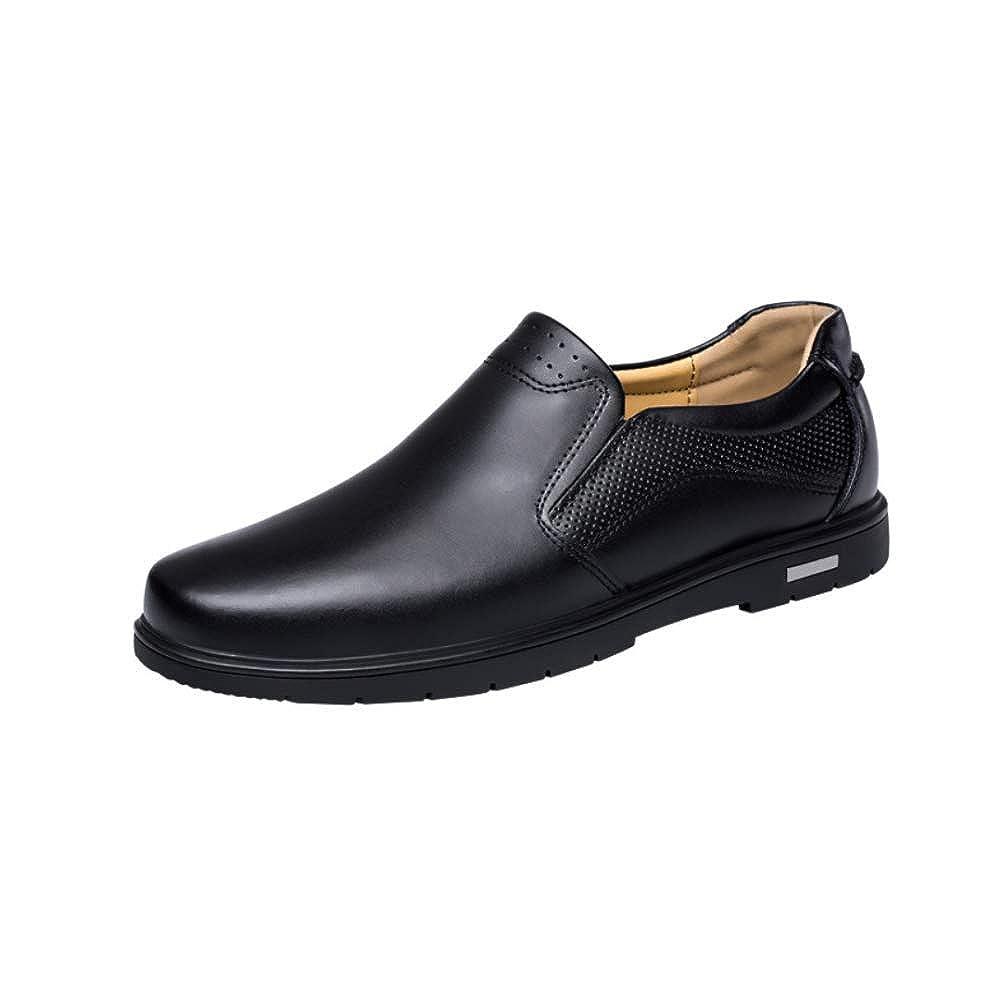 LYZGF Herrenschuhe Casual Herbst Und Winter Business Casual Herrenschuhe Fashion Style Schwarze Schuhe schwarz 1bea97