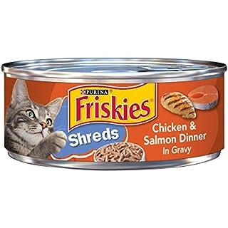Friskies Shredded Chicken and Salmon in Gravy, 5.5 oz