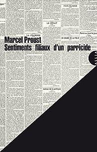 Book's Cover ofSentiments filiaux d'un parricide