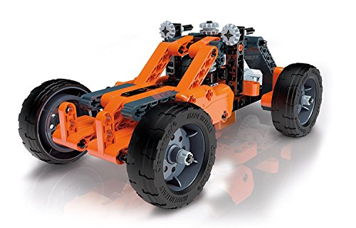Fascinating Educational Assembly Kit with Functional Models, 2-in-1 Model Configurations, Buggy & Quad, Ages 8 and Up
