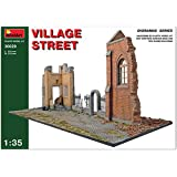 "Miniart 1:35 Scale ""Village Street"" Plastic Model Kit"