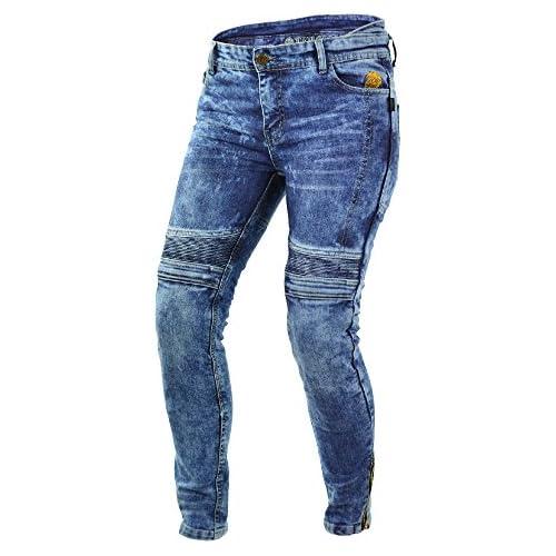 chollos oferta descuentos barato Trilobite Impresión de pantalones vaqueros para motorista