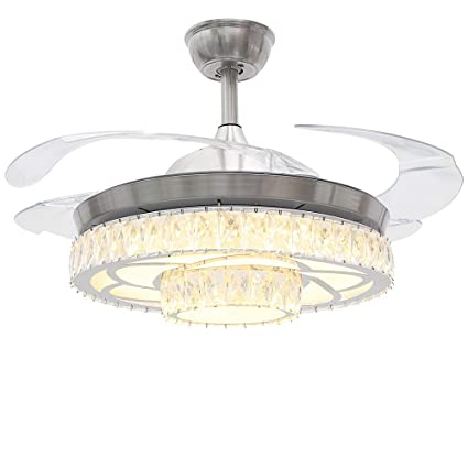 Rs Lighting Modernceiling Fans With Lights 42 Inch