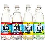 Polar 100% Natural Seltzer - 12 x 20 oz. - Variety Pack - (Lime, Lemon, Black Cherry, Cranberry Lime)