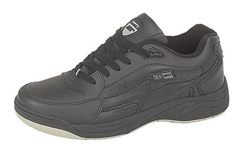 Dek - Sneaker da uomo, taglie varie, Nero (Black/Grey), 42.5 (9 UK)