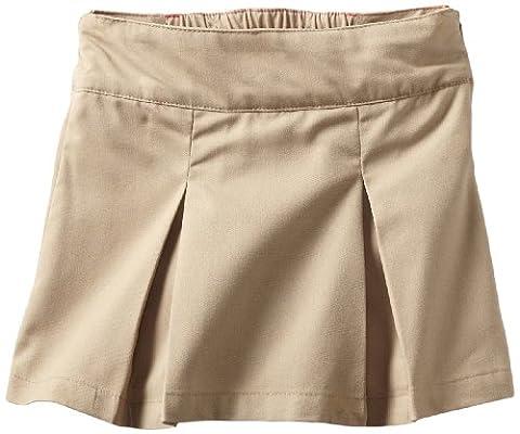 Dickies Big Girls' Pleated Skooter, Desert Sand, 8 Regular - Dickies Pleats Skirt