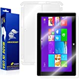ArmorSuit MilitaryShield - Microsoft Surface Pro 2 Screen Protector + Full Body Skin Protector - Anti-Bubble Ultra HD Shield w/ Lifetime Replacements