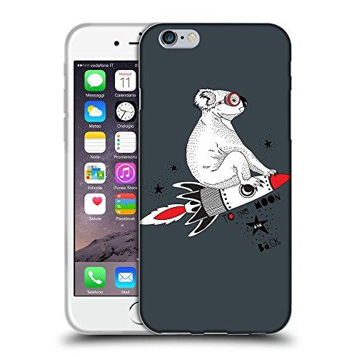 "GoGoMobile Coque de Protection TPU Silicone Case pour // Q05240606 Koala volant Arsenic // Apple iPhone 6 PLUS 5.5"""