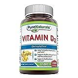 Pure Naturals Vitamin D3 10000 Iu Softgels, 240 Count Review