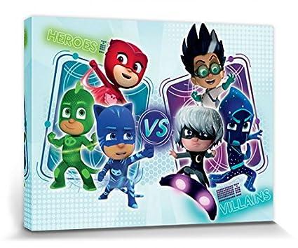 1art1® PJ Masks - Connor, Amaya, Greg, Romeo, Lunática. Ninja