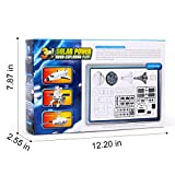 Bapllo 3-in-1 Solar Power Moon-exploring Fleet Educational Kits Build You Own Science Space Toys DIY Gift for Children