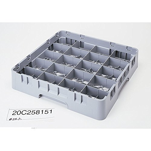 Camrack Cup Rack, Full Size, 19-3/4'' X 19-3/4'' X 4'', 20 Compartment, 4-3/8'' X 3-1/2'', 2-5/8'' (6 Pieces/Unit) by Cambro