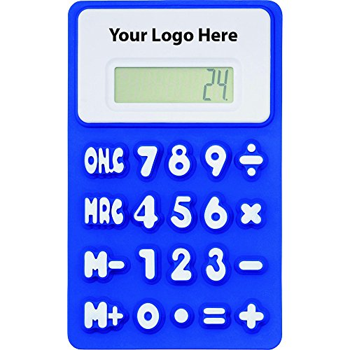 The Flex Calculator - 150 Quantity - $2.90 Each - PROMOTIONAL PRODUCT / BULK / BRANDED with YOUR LOGO / CUSTOMIZED by Sunrise Identity