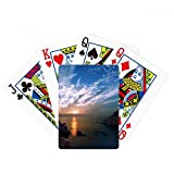 Lake Mountain Science Nature Scenery Poker Playing Card Tabletop Board Game Gift