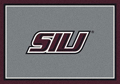 Southern Illinois Salukis Rug (Southern Illinois College Team Spirit Area Rug by Milliken, 5'4