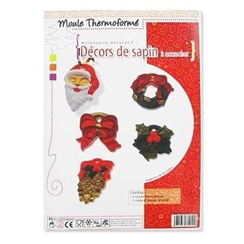 Moldes decoraciones para árbol de Navidad para colgar 5 adornos: Amazon.es: Juguetes y juegos