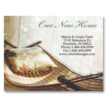 Colorful Images Relax New Address Postcards - Set of 24 5-1/4'' x 4'' post cards by Colorful Images (Image #1)